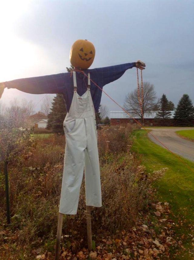 rosary scarecrow