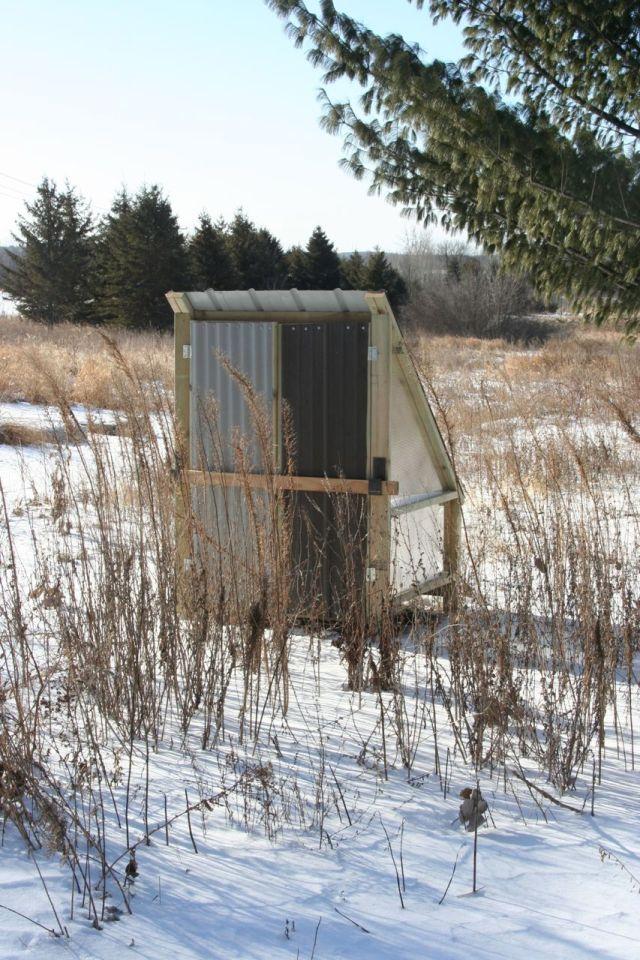 chicken coop front