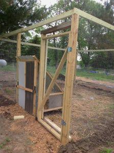 framed coop