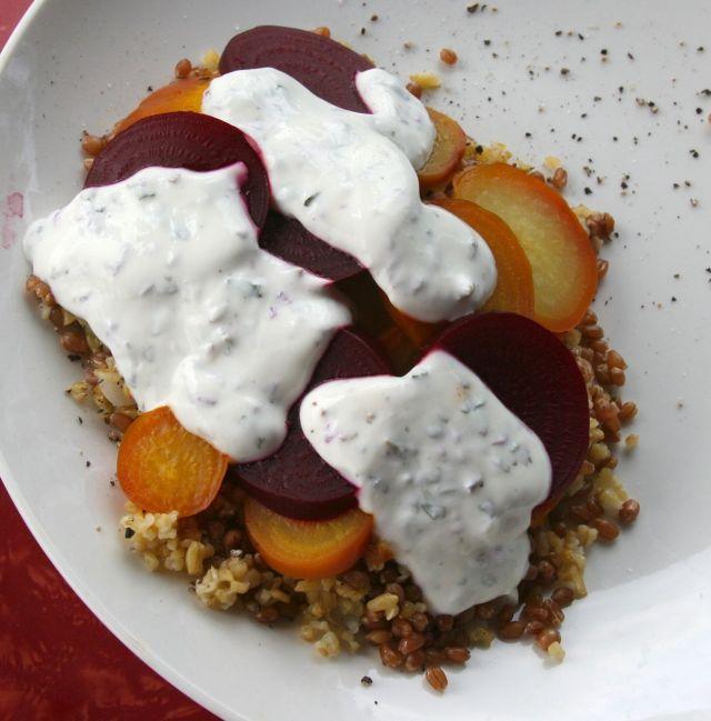beets hyssop sauce