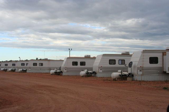 man camp trailers