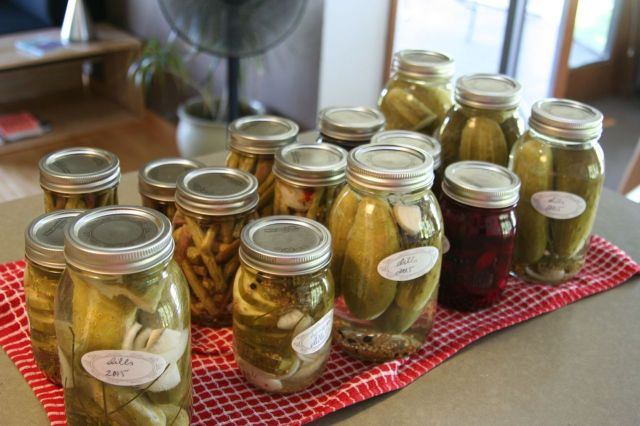 pickles finished