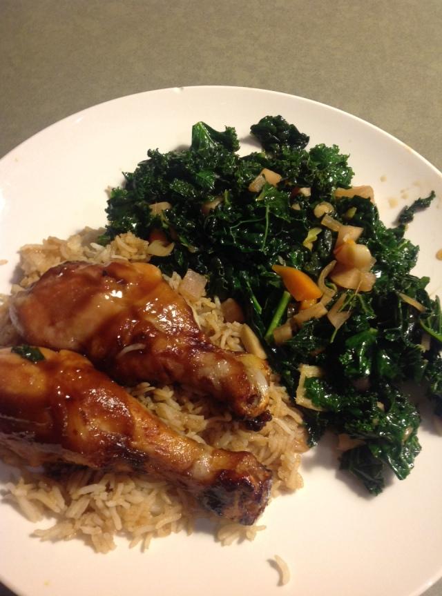 chicken kale