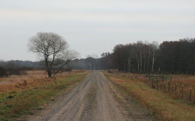 Sherburne Refuge gate path