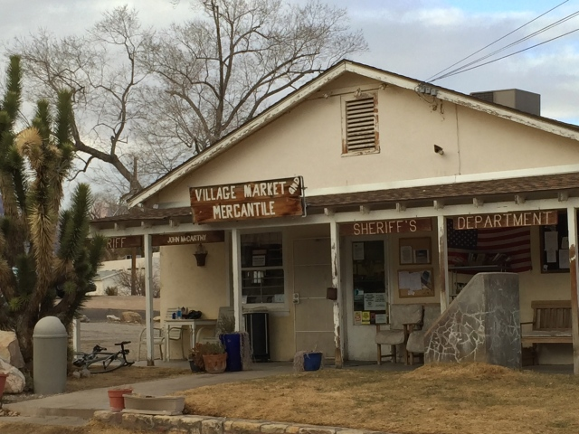 sheriff/mercantile in Blue Diamond near Red Rock