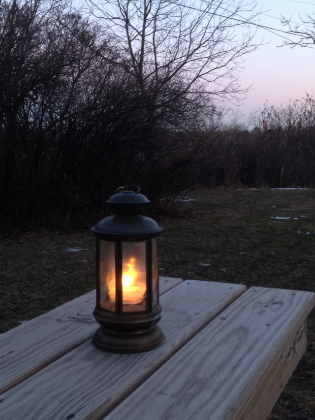 Sherie's lantern